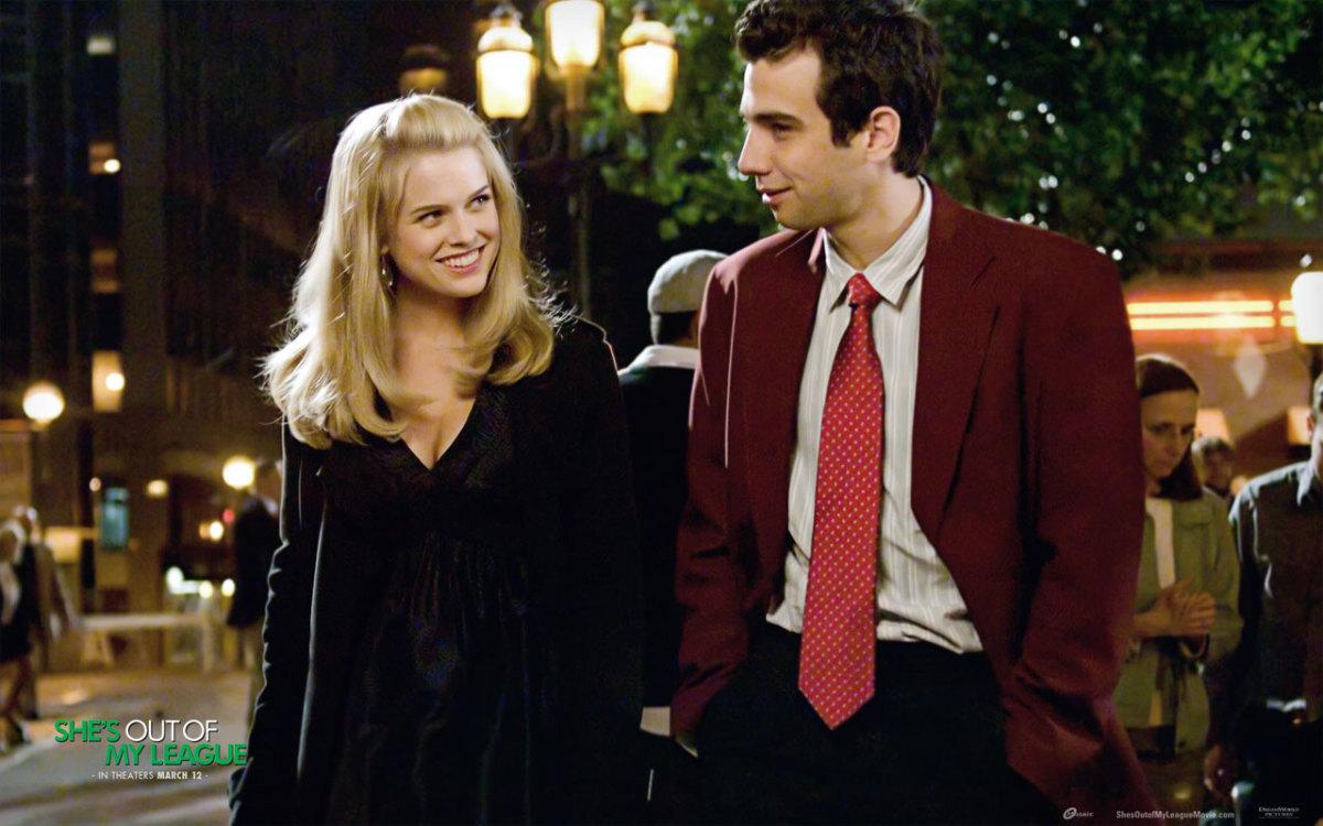 Molly (Alice Eve) and Kirk (Jay Baruchel)