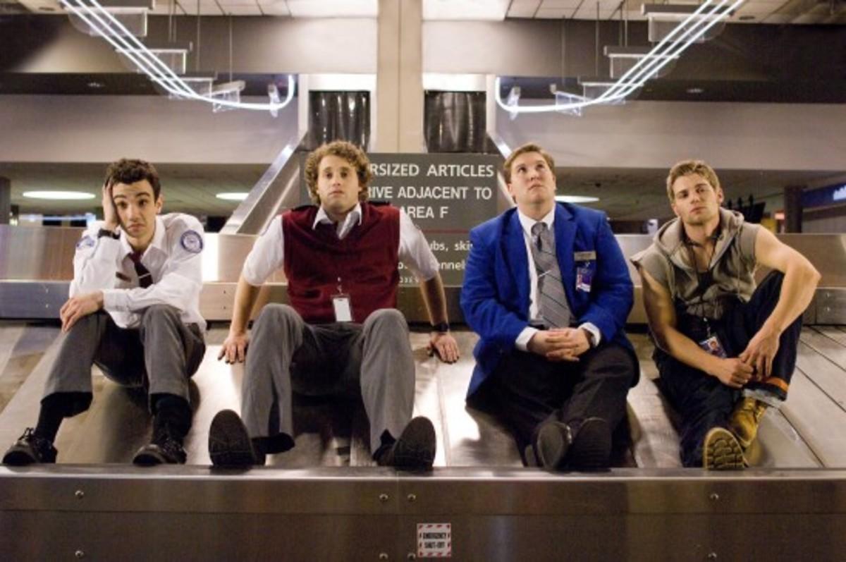 Kirk (Jay Baruchel) and his friends