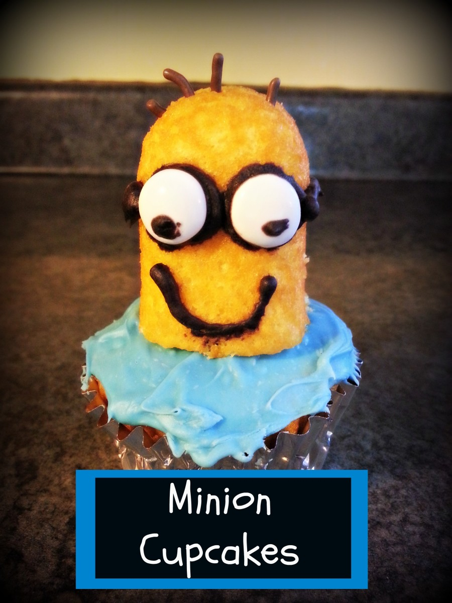 Easily decorate cupcakes to look like the lovable minions.  Its so easy to make, and fun to eat.