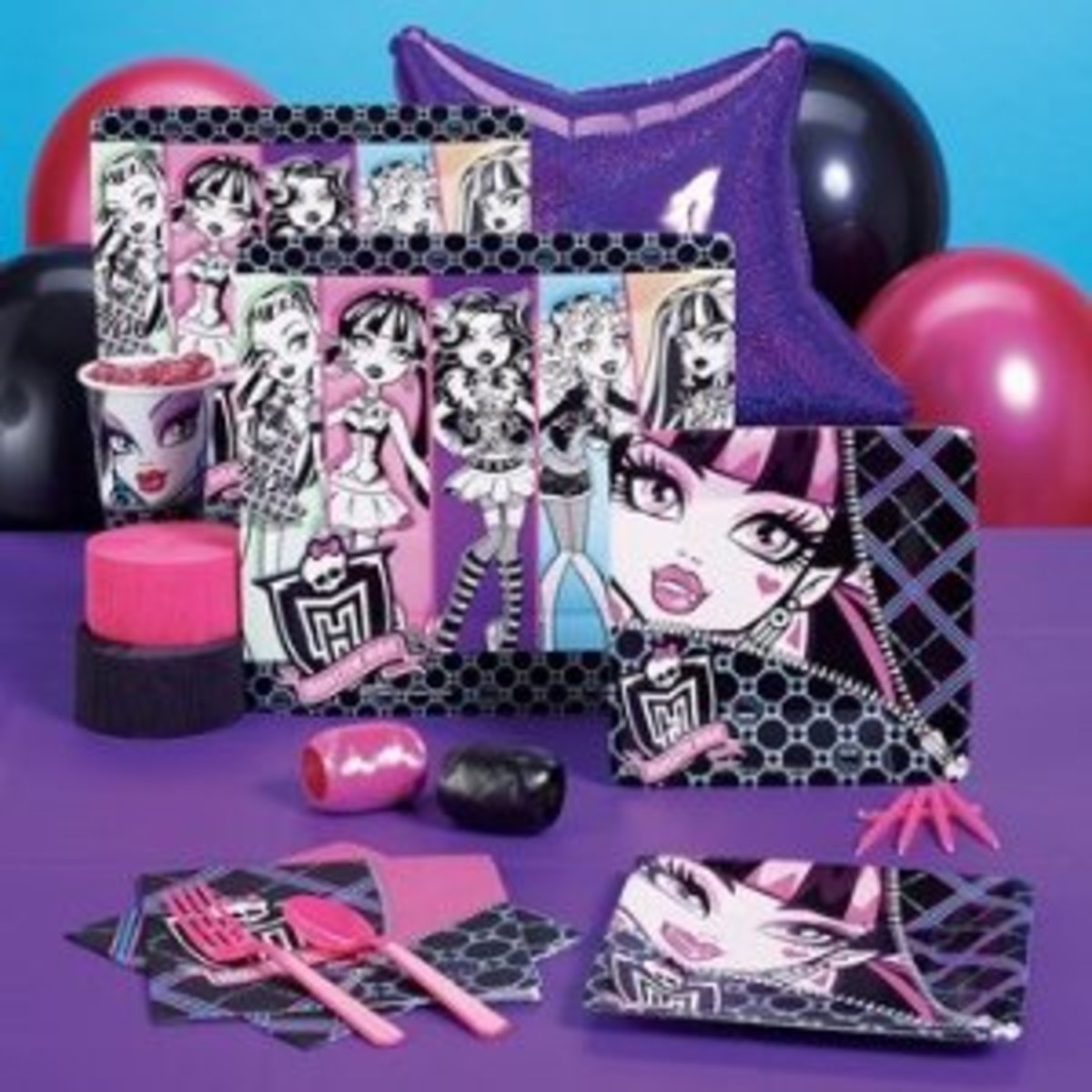 Monster High party supplies pack