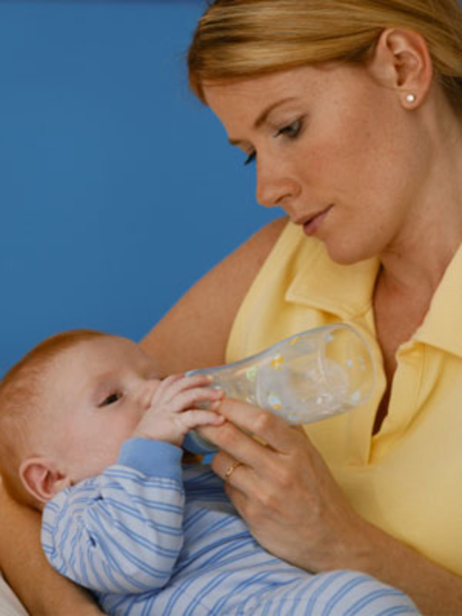 Improper feeding methods can give baby gas.