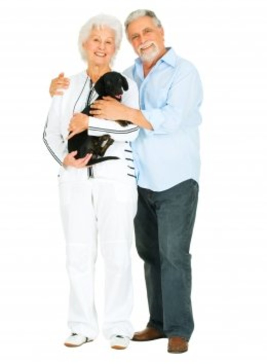 Having a pet will bring happiness and warmth in your retired lives.