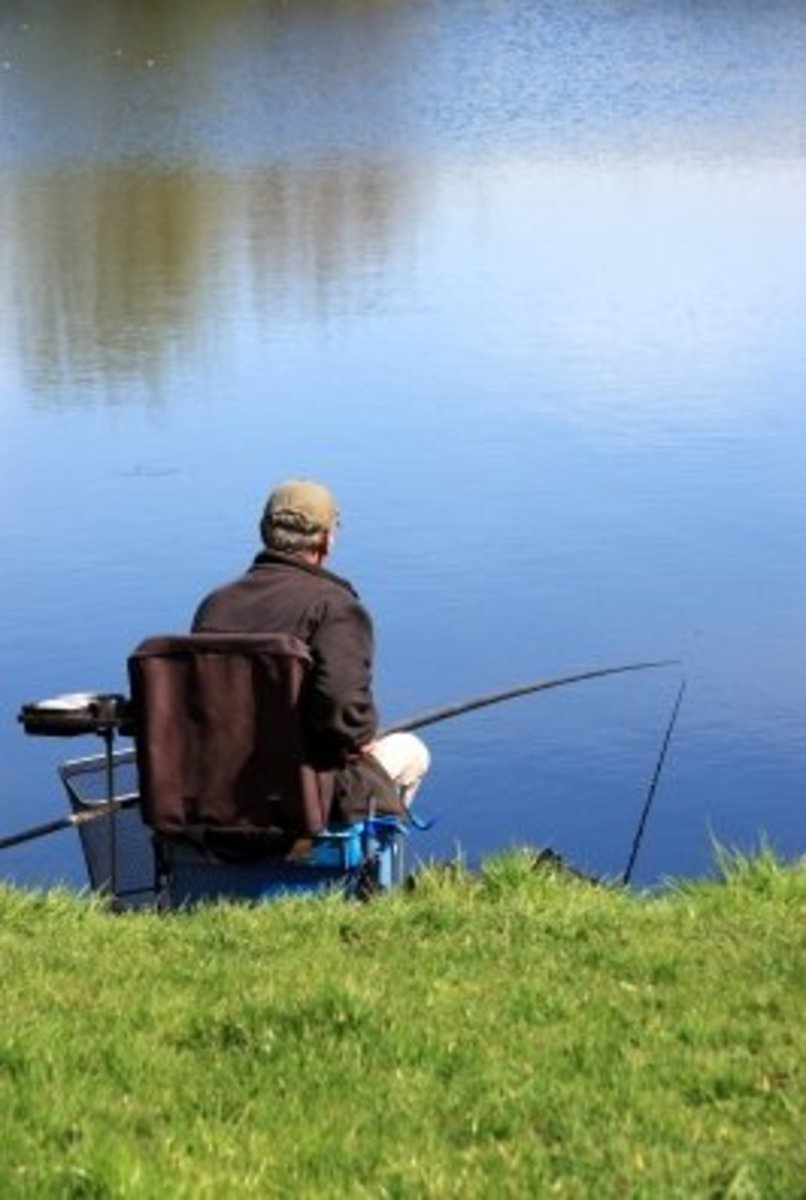 Spend a sunny day fishing by the river and cook your catch.
