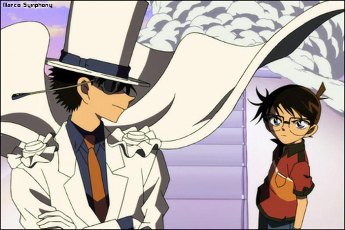 Conan Edogawa and Kaito Kid
