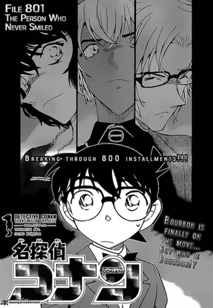 The cover of chapter 801