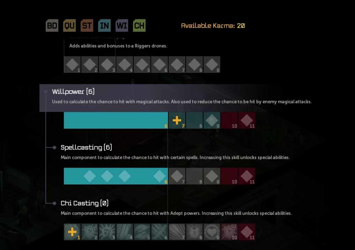 Shadowrun Returns Level Up Guide