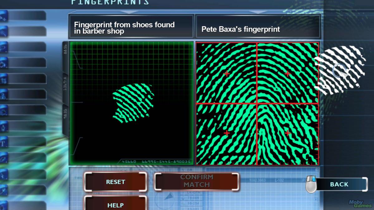 Digital Analysis of Fingerprints