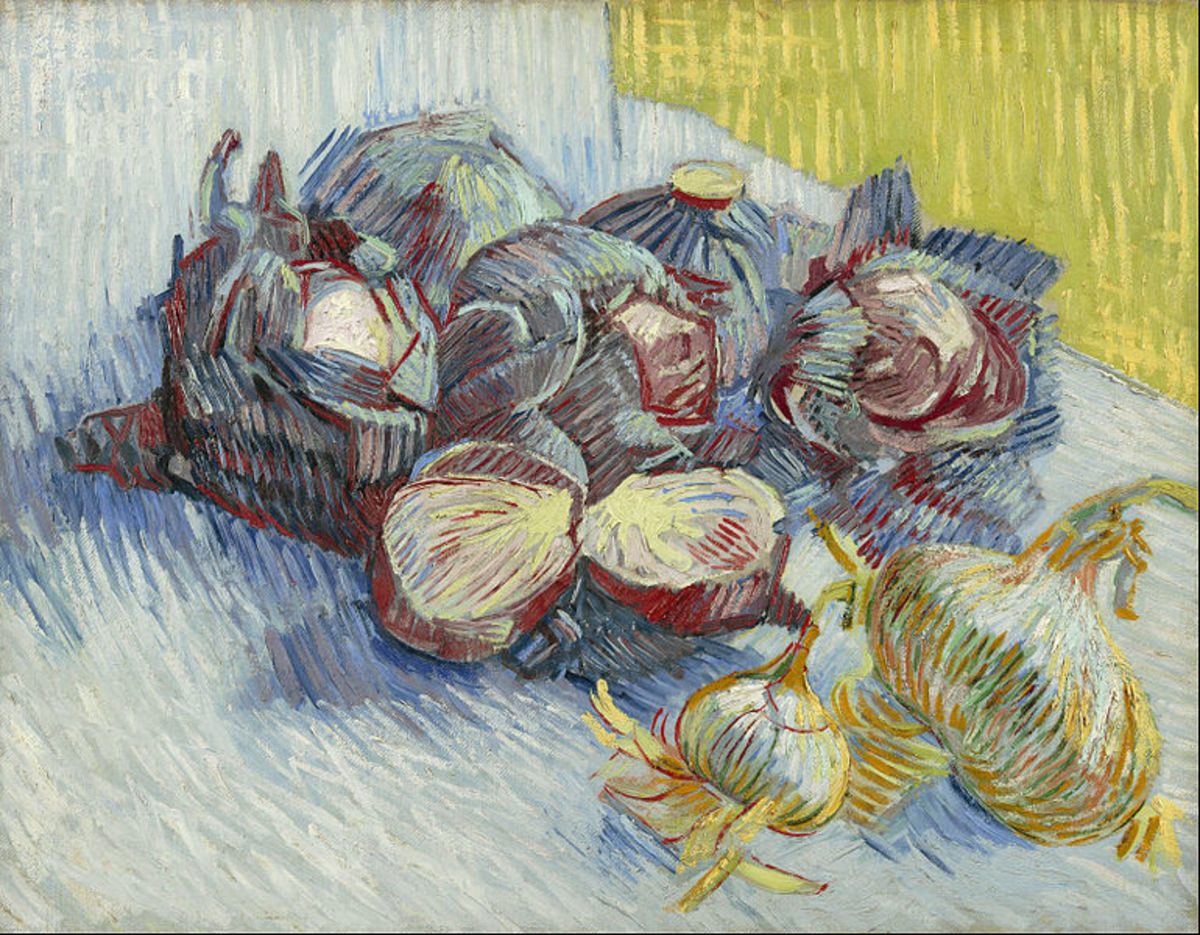 Even Van Gogh was inspired by delicious red cabbages!