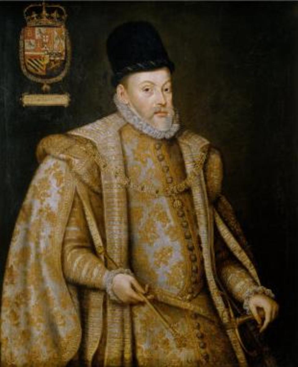 Portrait by Alonso Sánchez Coello
