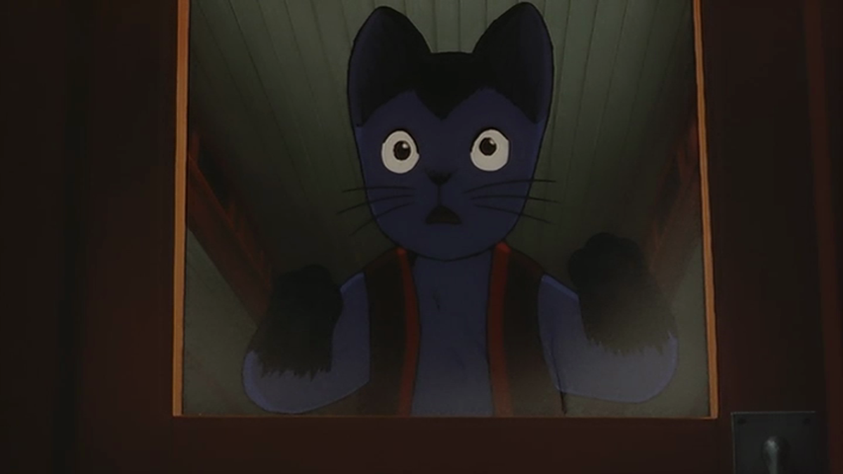 Giovanni is moved by what he sees on the Galactic Railroad -- perhaps more so than viewers will be.