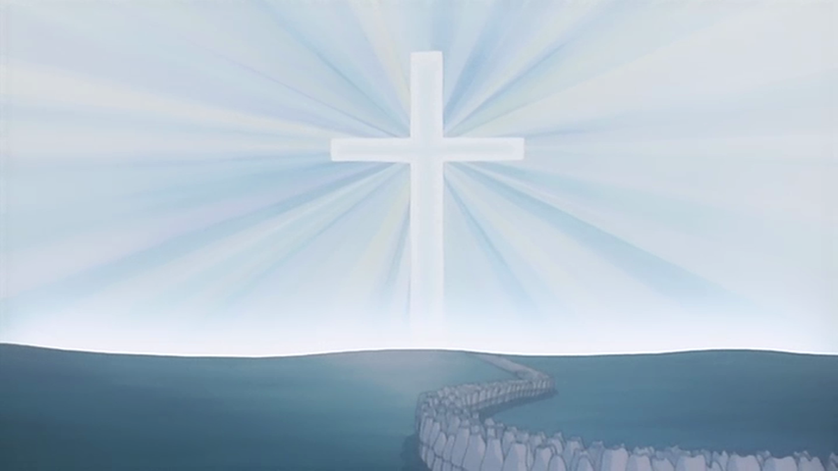 Strong Christian symbolism permeates the film.