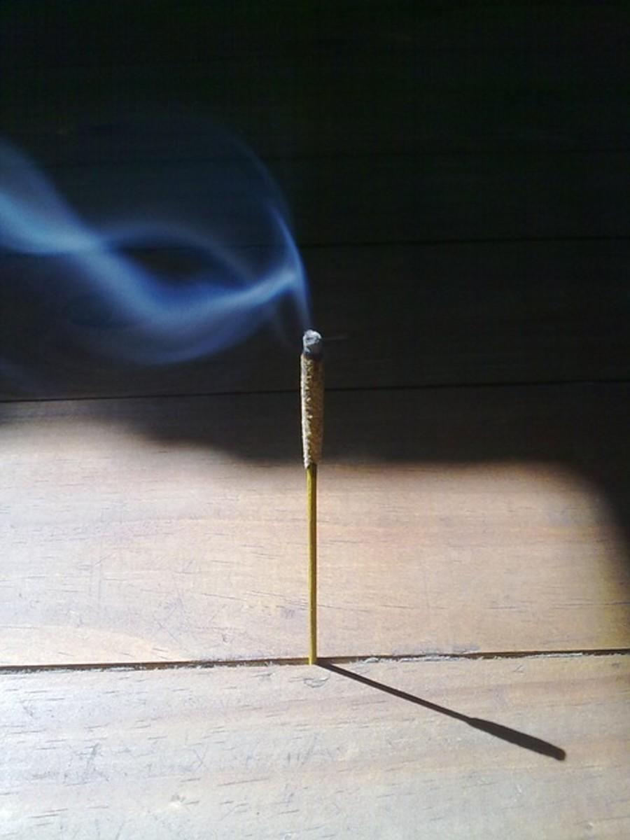 Incense enhances ritual consciousness