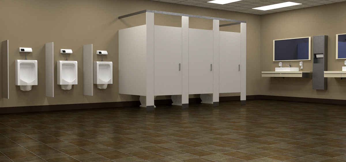 The thought of a public restroom can cause extreme anxiety.