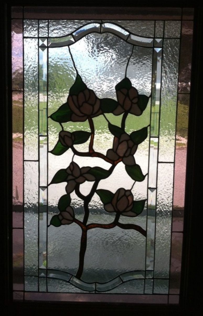 Entry Door Stained Glass Panel