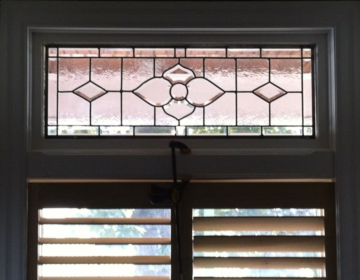 Transom in my living room
