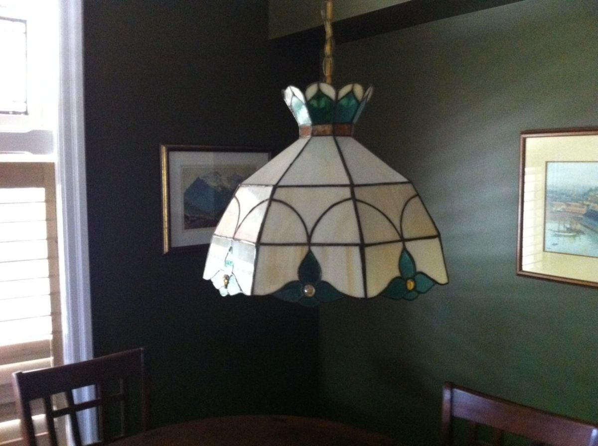 A hanging Lamp I made