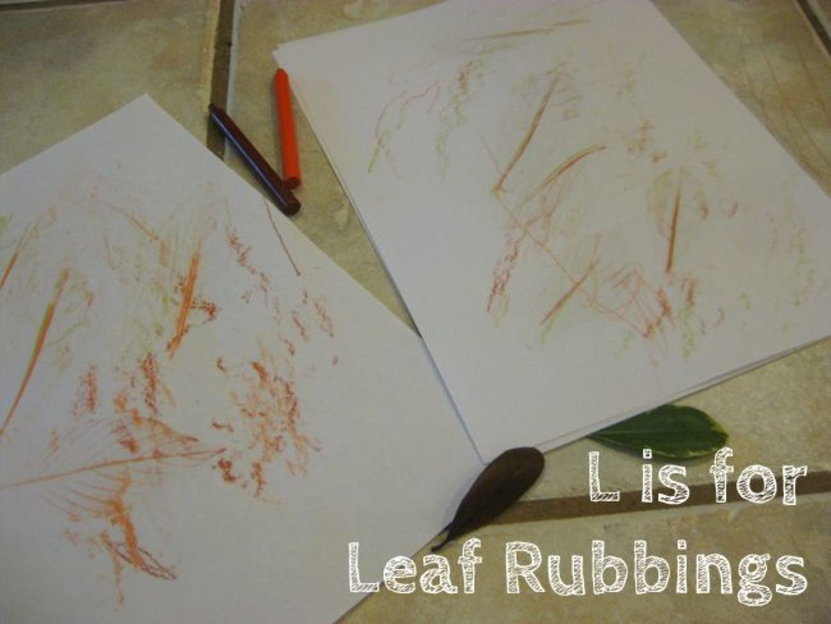 L is for Leaf Alphabet Activities