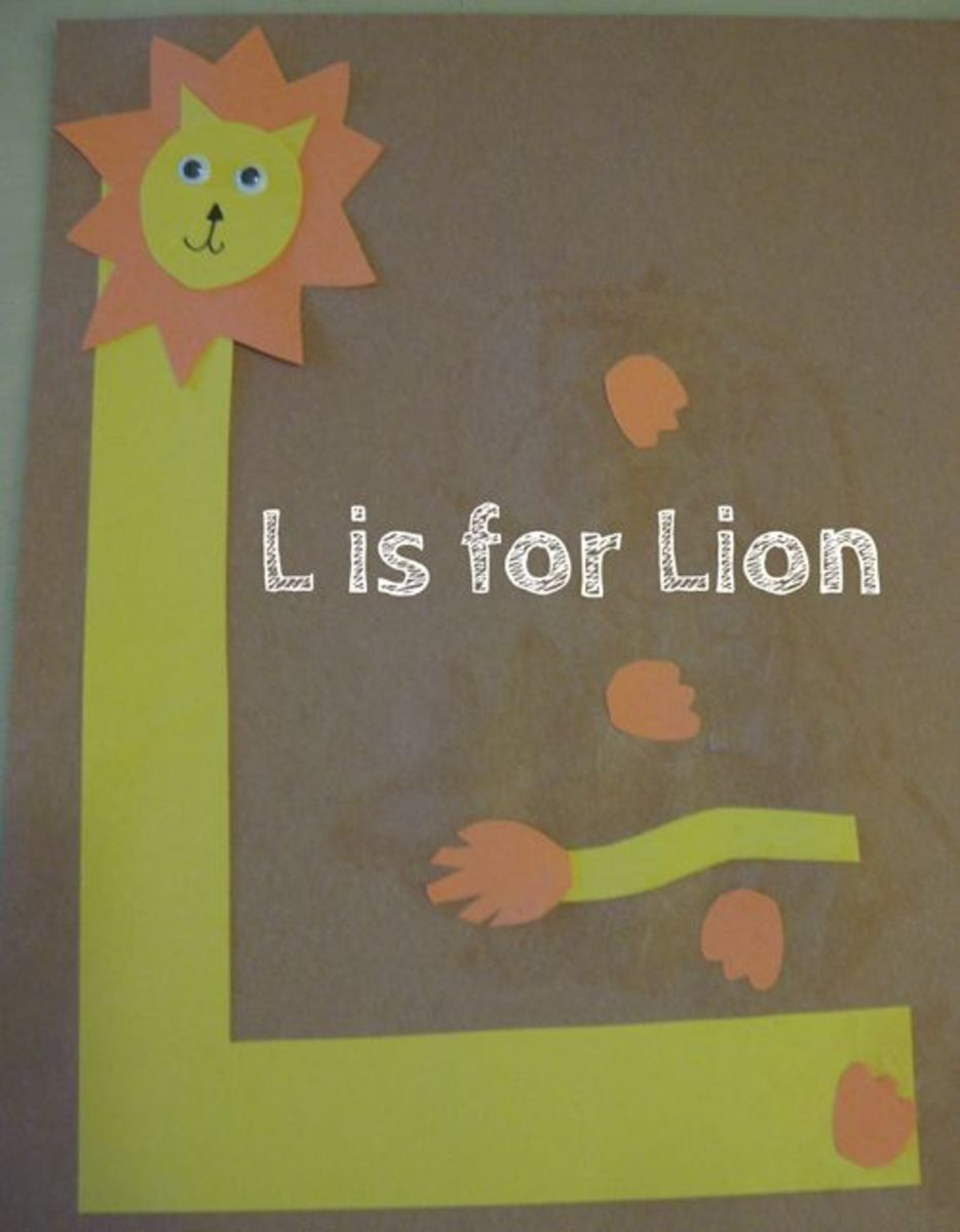 L is for Lion Alphabet Activities