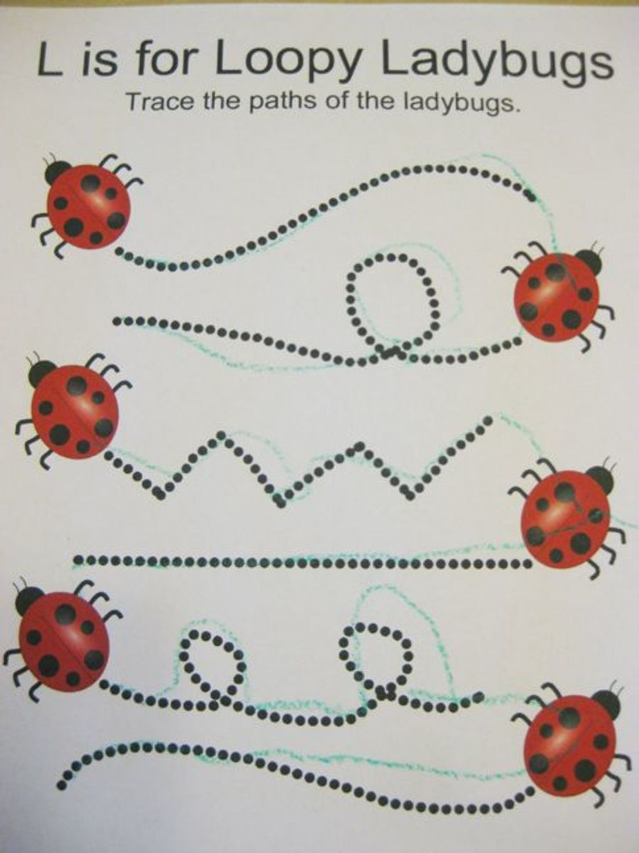 L is for Loopy Ladybugs Alphabet Activities