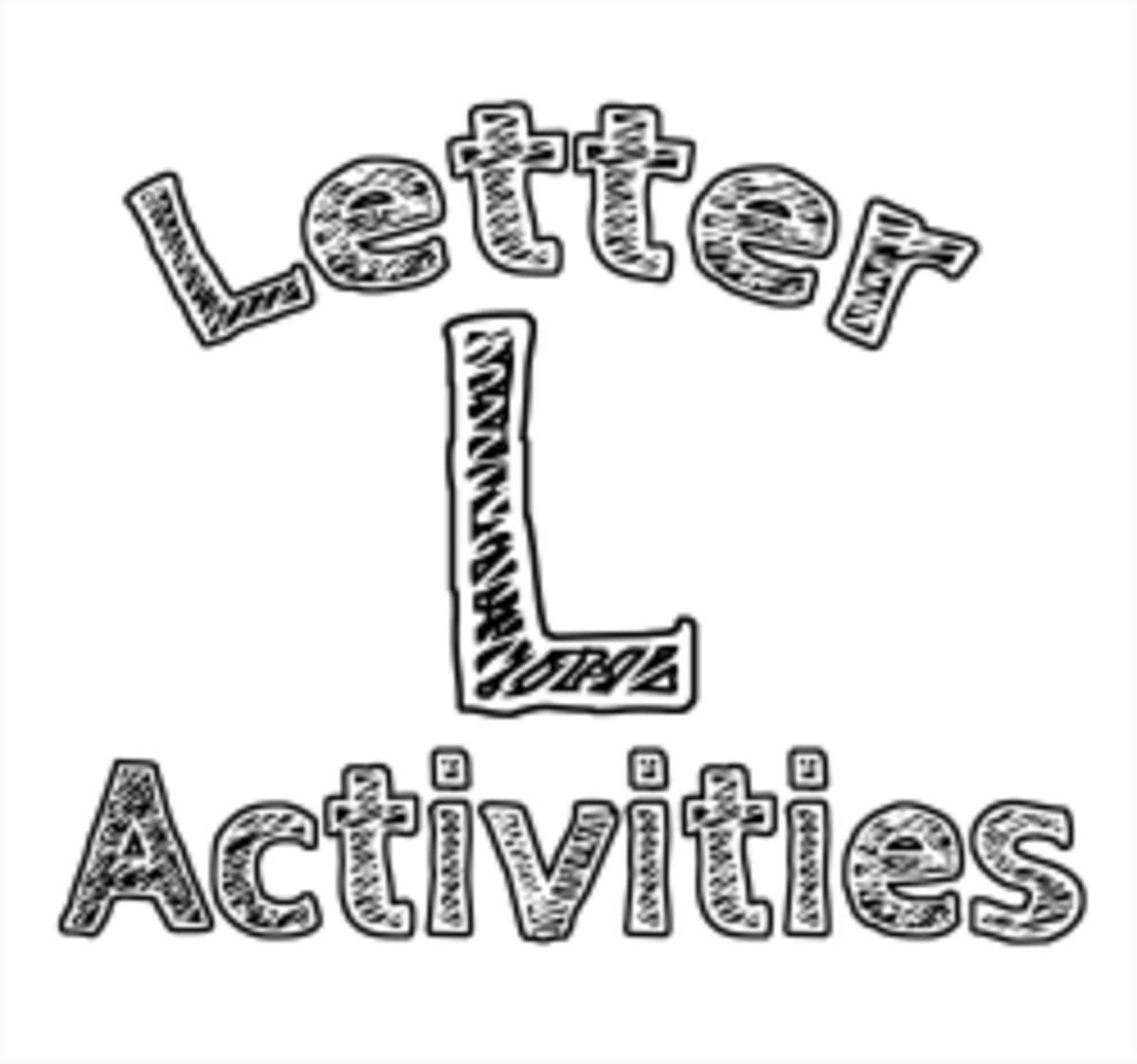 Letter L: Alphabet Activities for Kids
