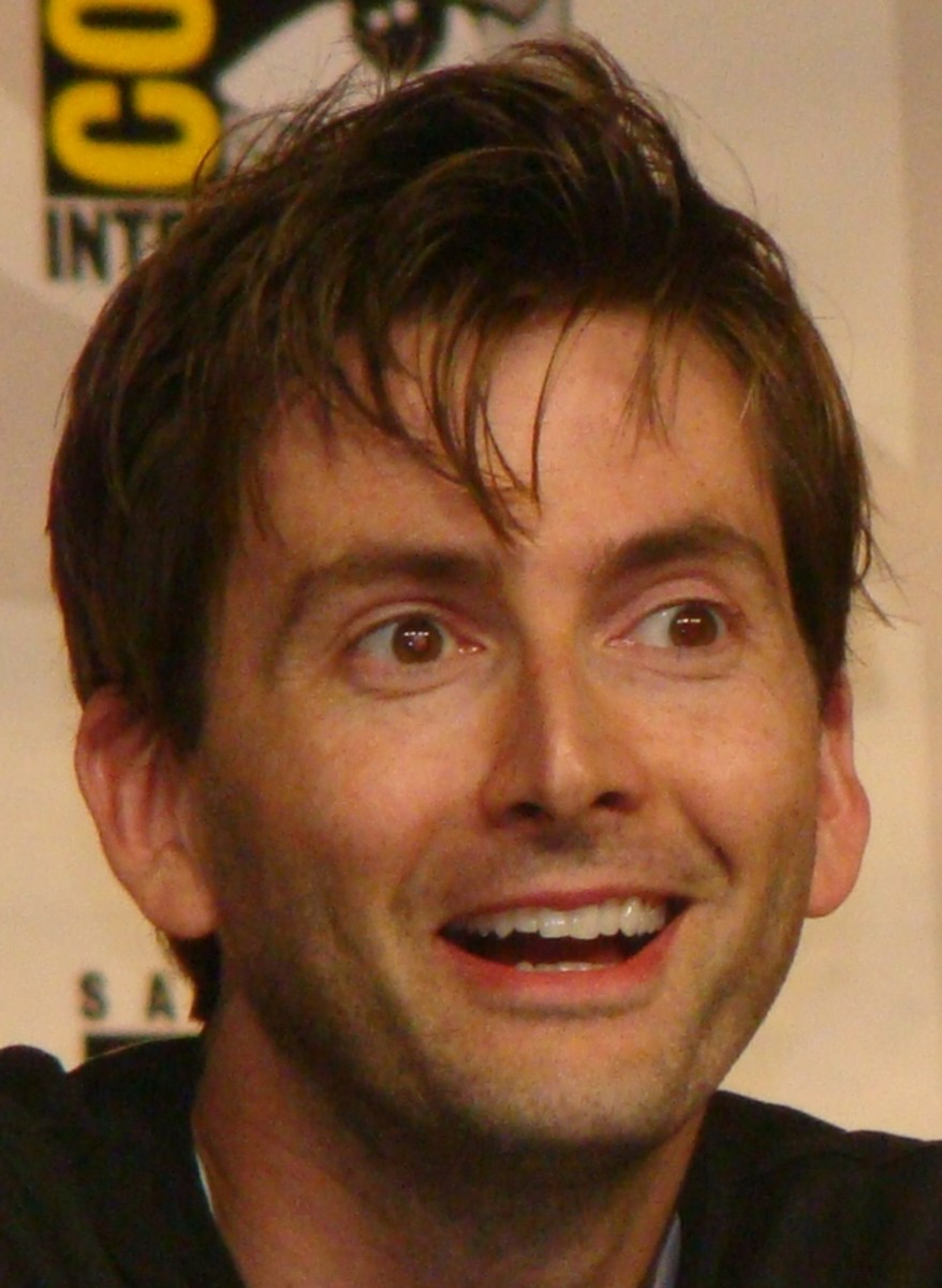 The 10th Doctor, David Tennant.