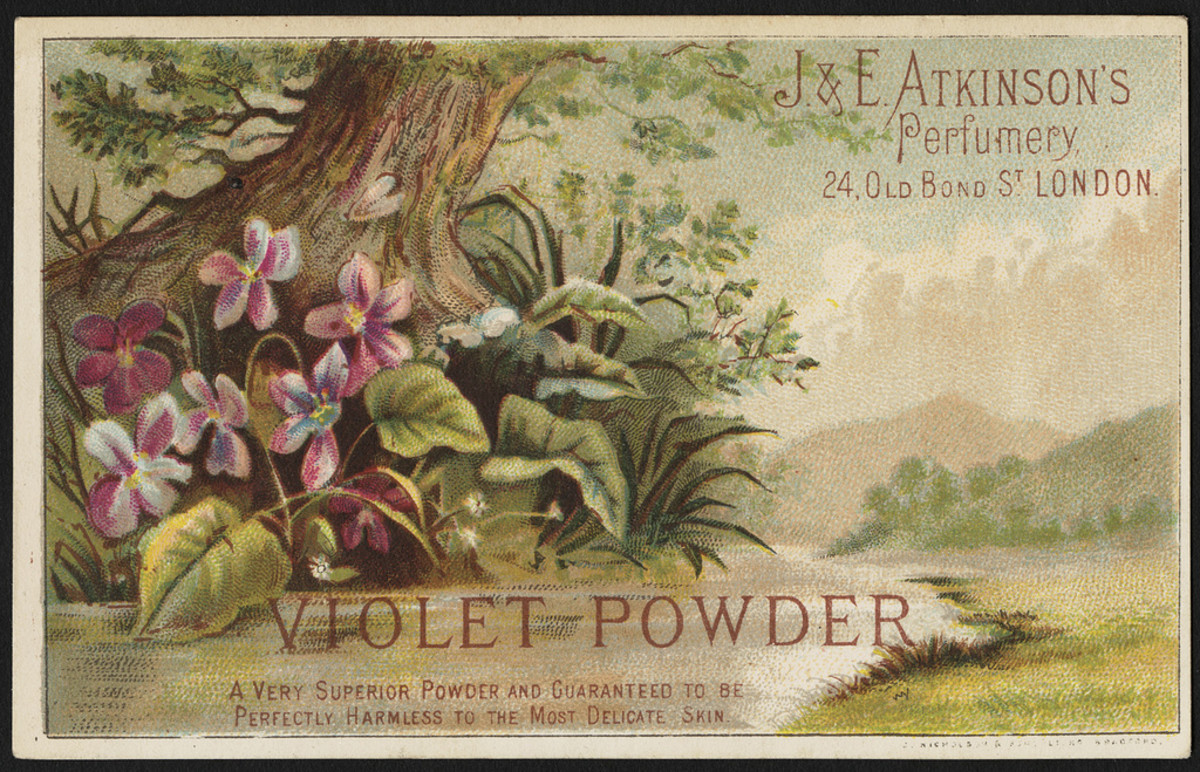 my grandmother's favorite scent was violets
