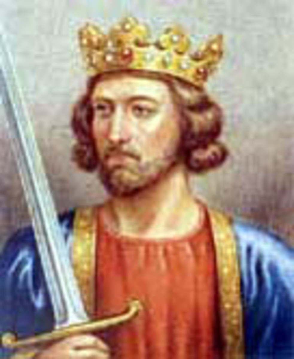 Edward I; also known as ''Longshanks'' and ''Hammer of the scots''.