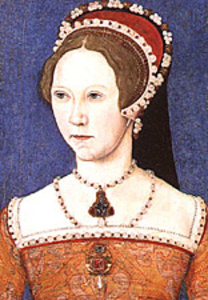 The young Princess Mary Tudor, soon to be ''Bloody Mary.''