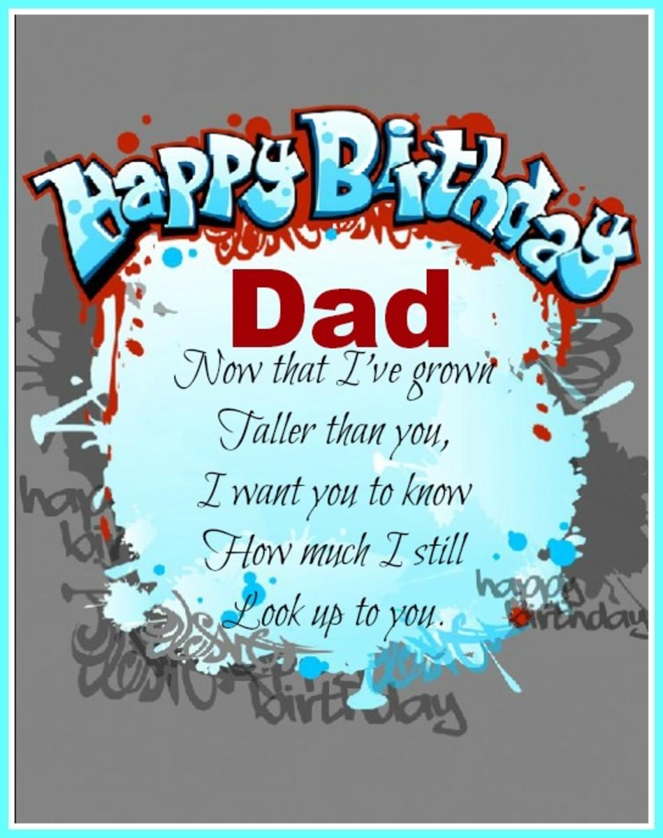 Father Birthday Ecard