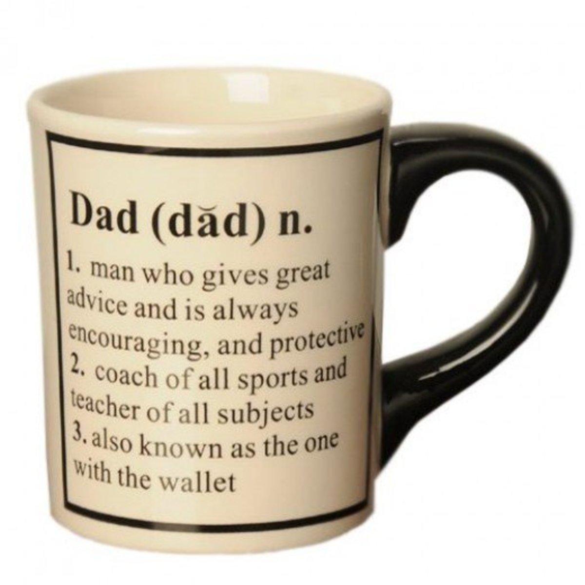 Dad Birthday Quotes Mug