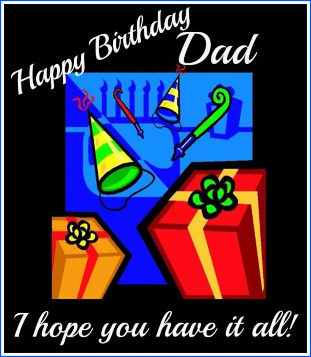 Dad Birthday Greeting Ecard