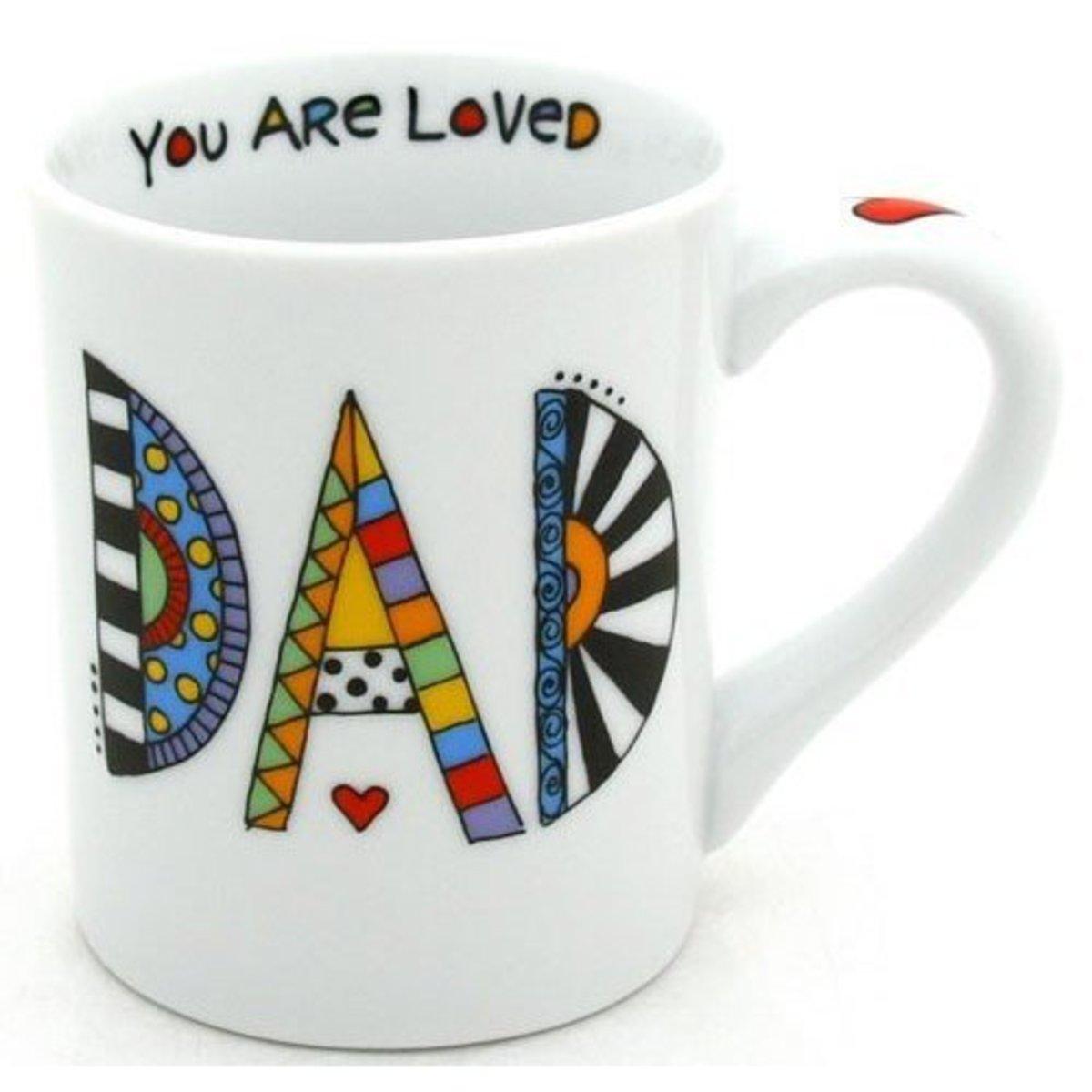 Birthday Message for Dad Mug