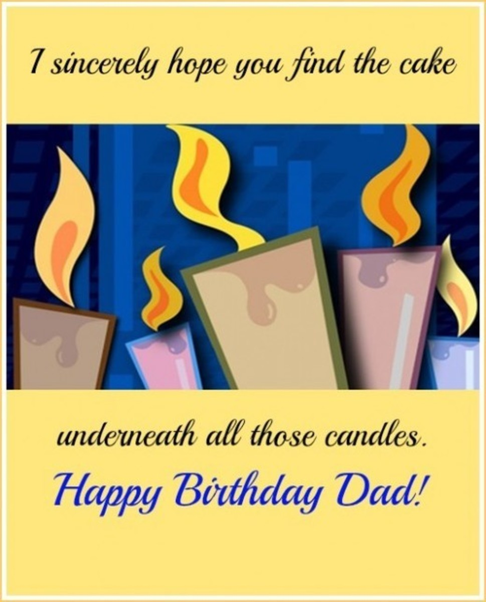 Happy Birthday Dad Card Happy Birthday Dad From Daughter Messages
