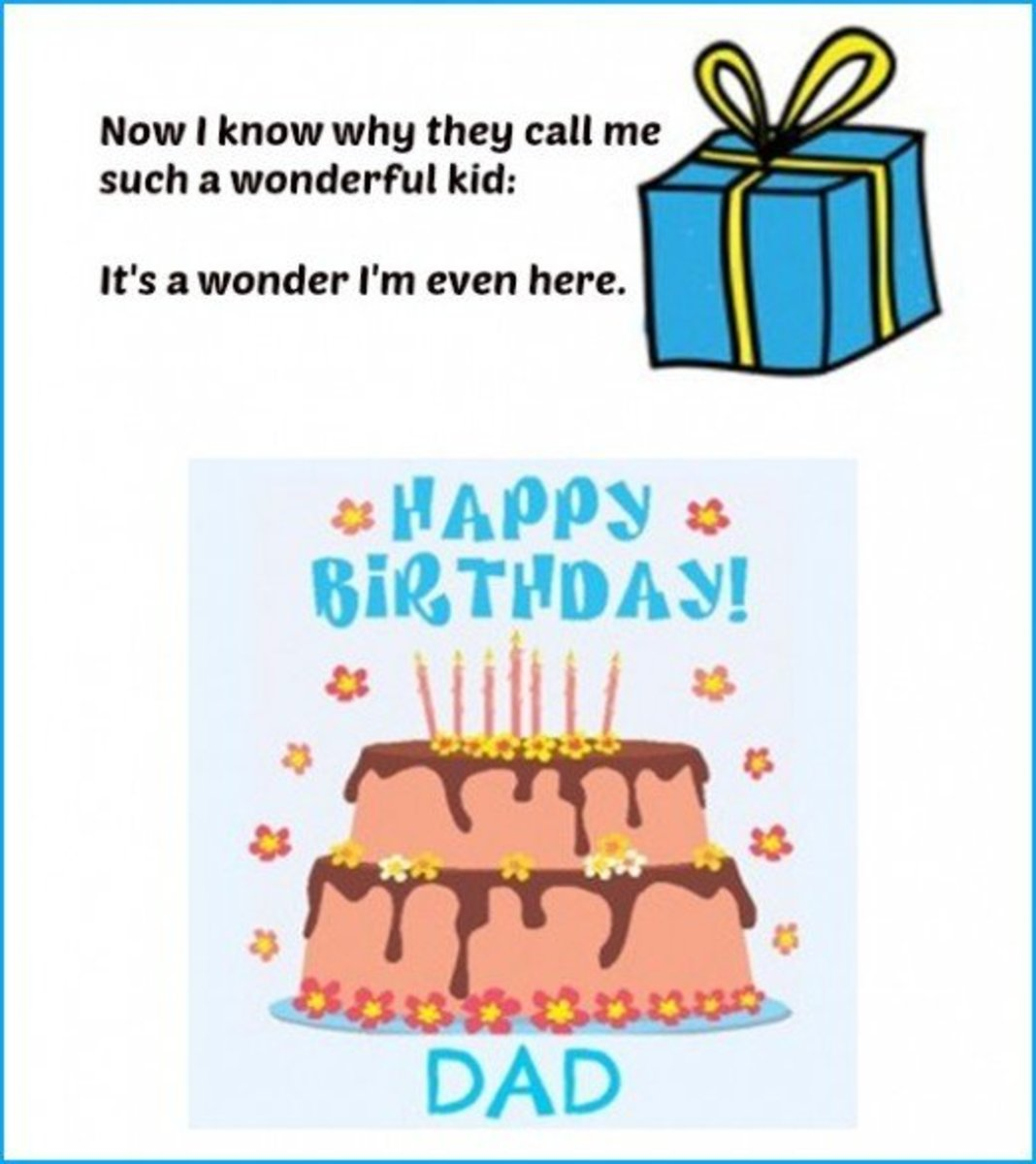 dad birthday quotes from kids - photo #5