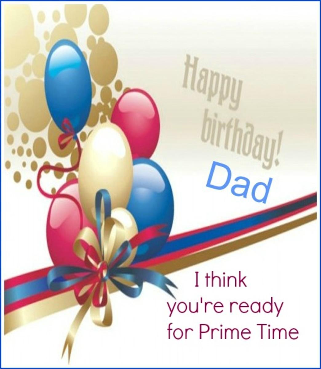 Dad Email Birthday Card