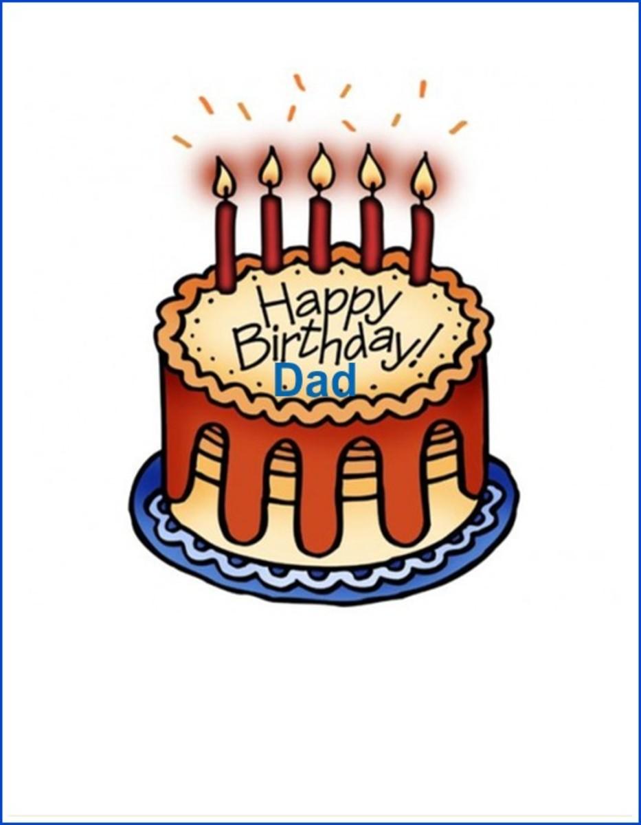 Dad Birthday Card Design