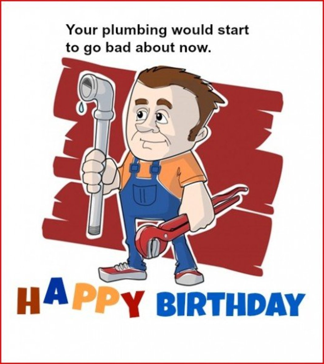 Funny Birthday Greeting Card for Dad