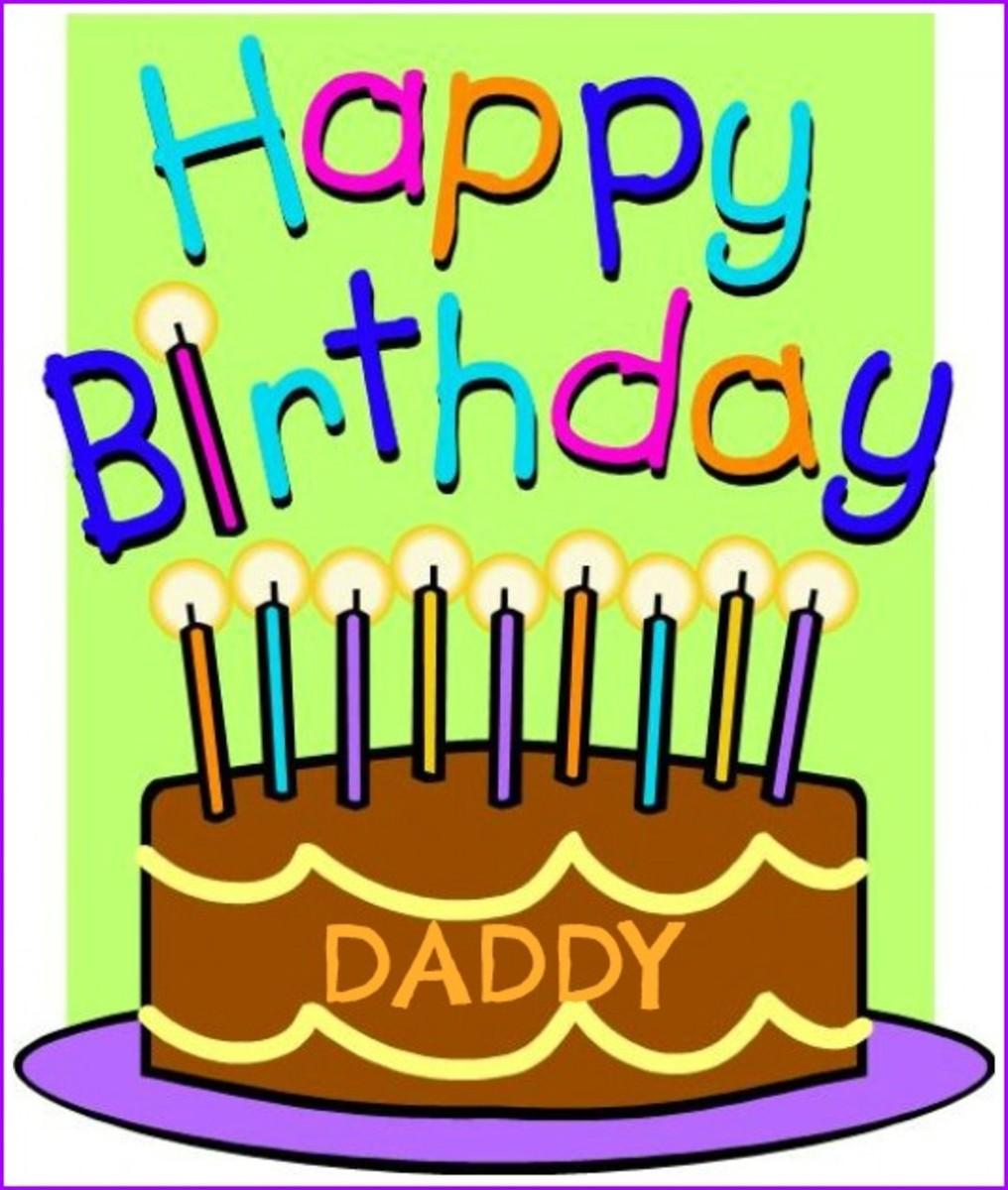 Dad Birthday Email
