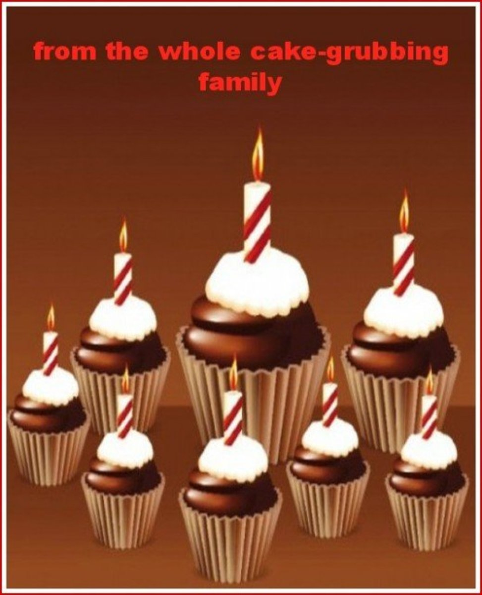 Inside Dad Birthday Card from Family