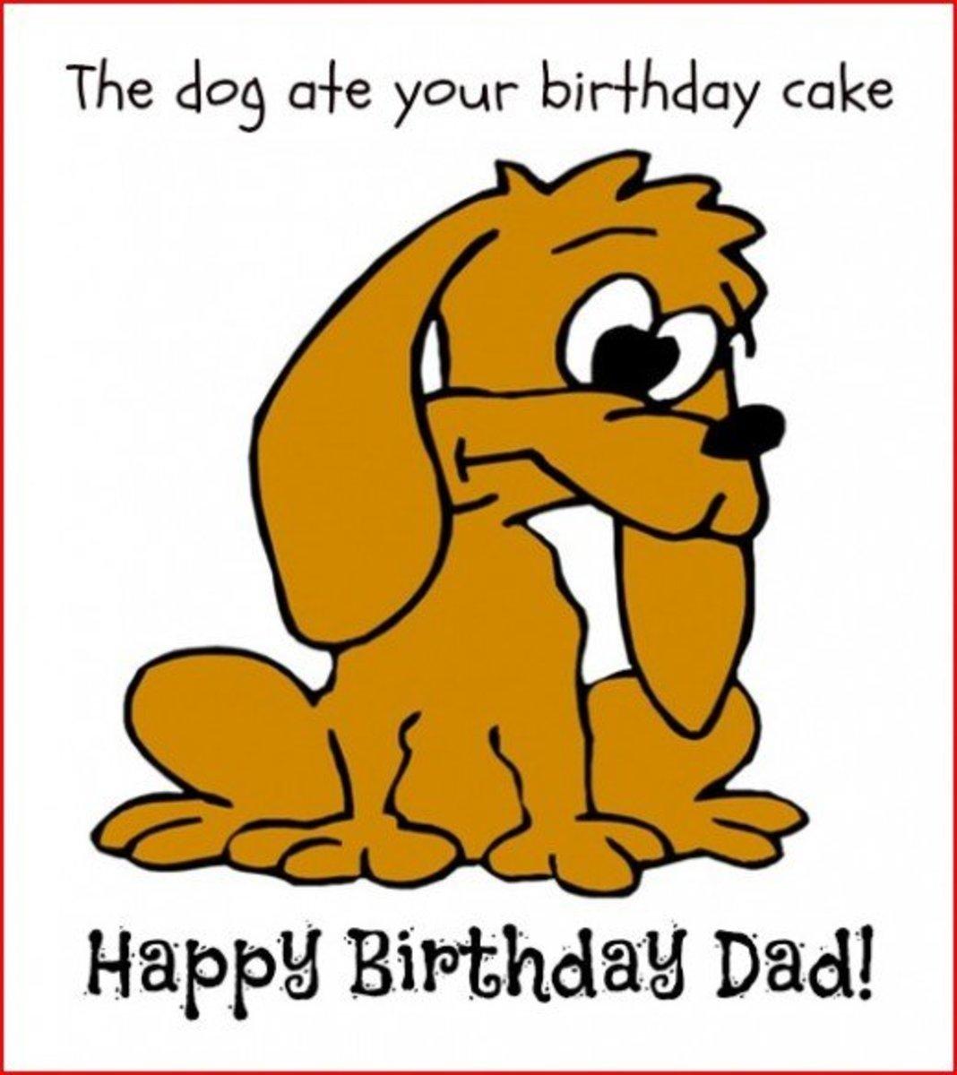 Inside Funny Birthday Card Greetings