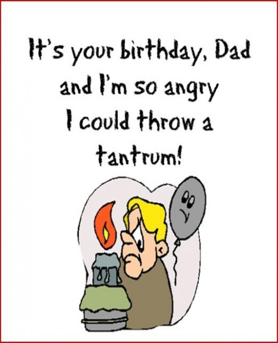 Funny Birthday Card from Kids to Dad