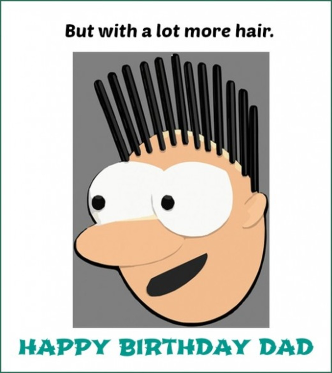 Inside Funny Birthday Greeting Card
