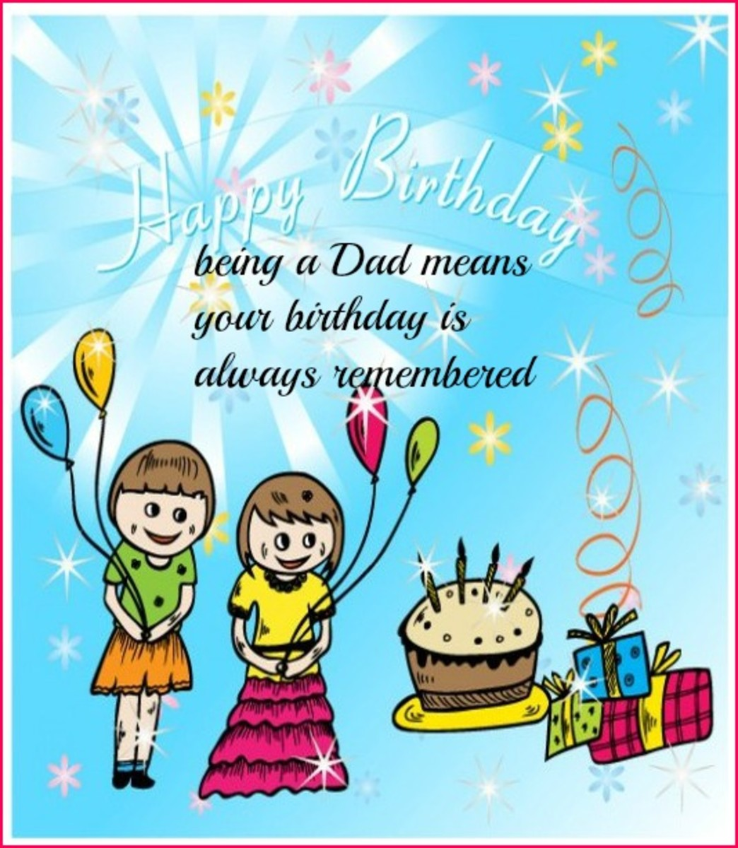 Email Birthday Card for Dad
