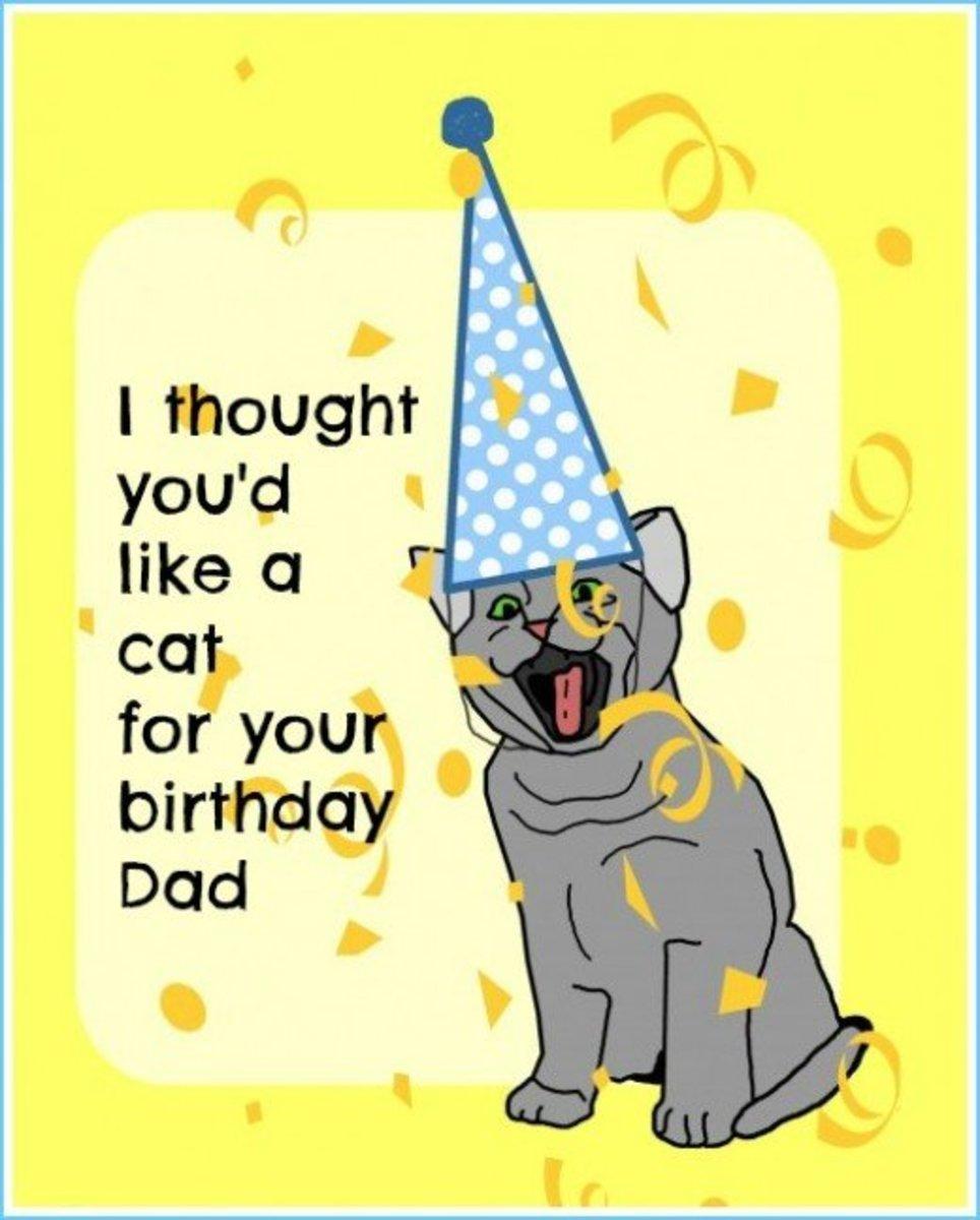 LOL Cat Birthday Card Message