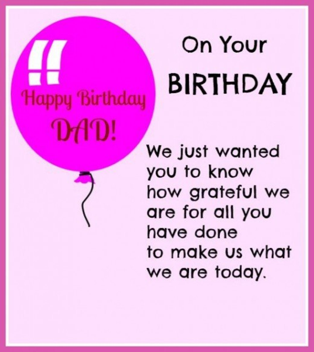 HAPPY BIRTHDAY DAD   Free Birthday Greetings, Cards & Messages