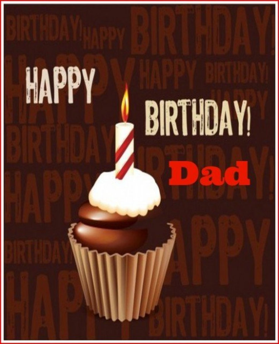 Dad Birthday Card from Family