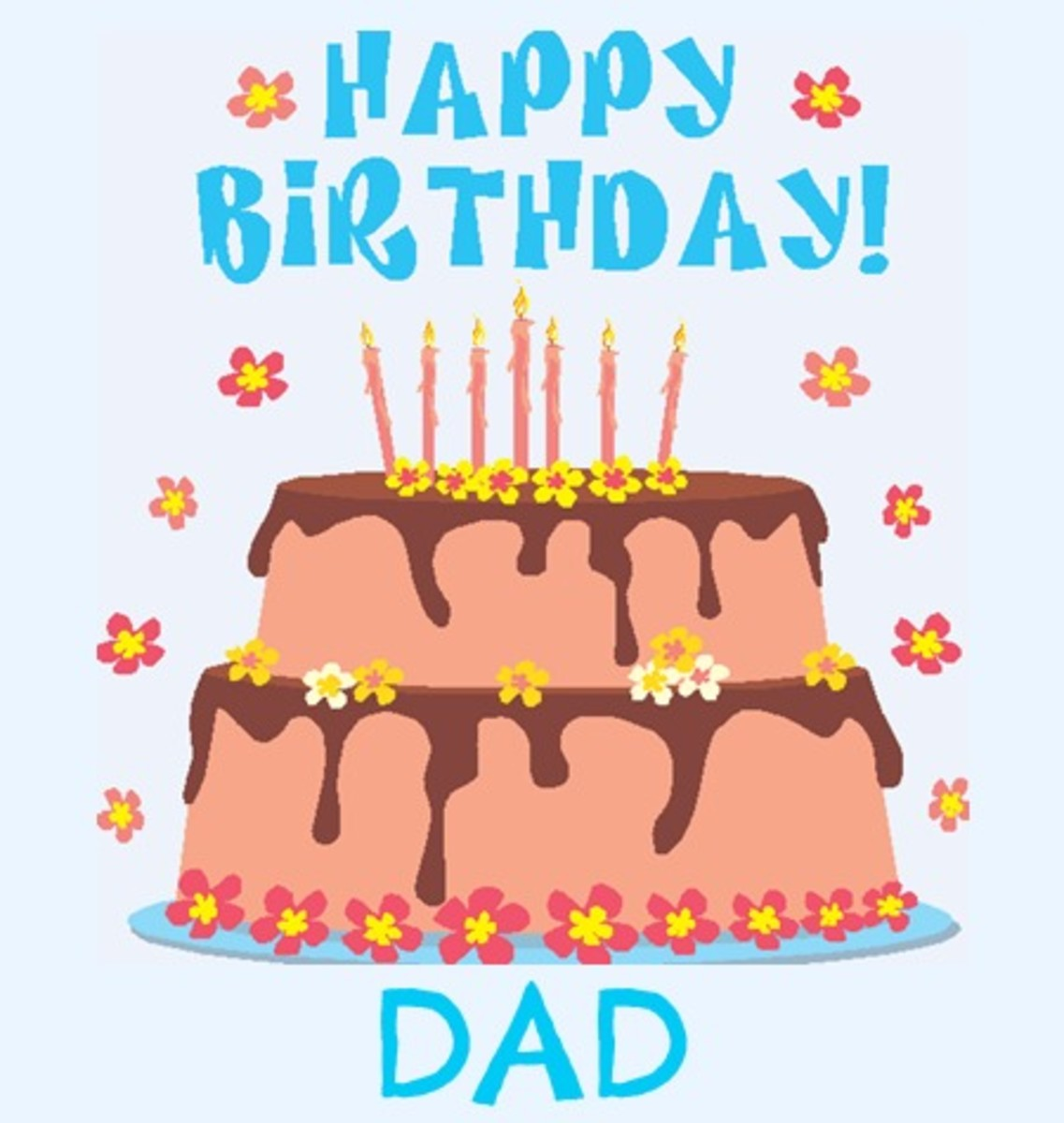 Happy birthday dad free birthday greetings cards messages happy birthday dad m4hsunfo