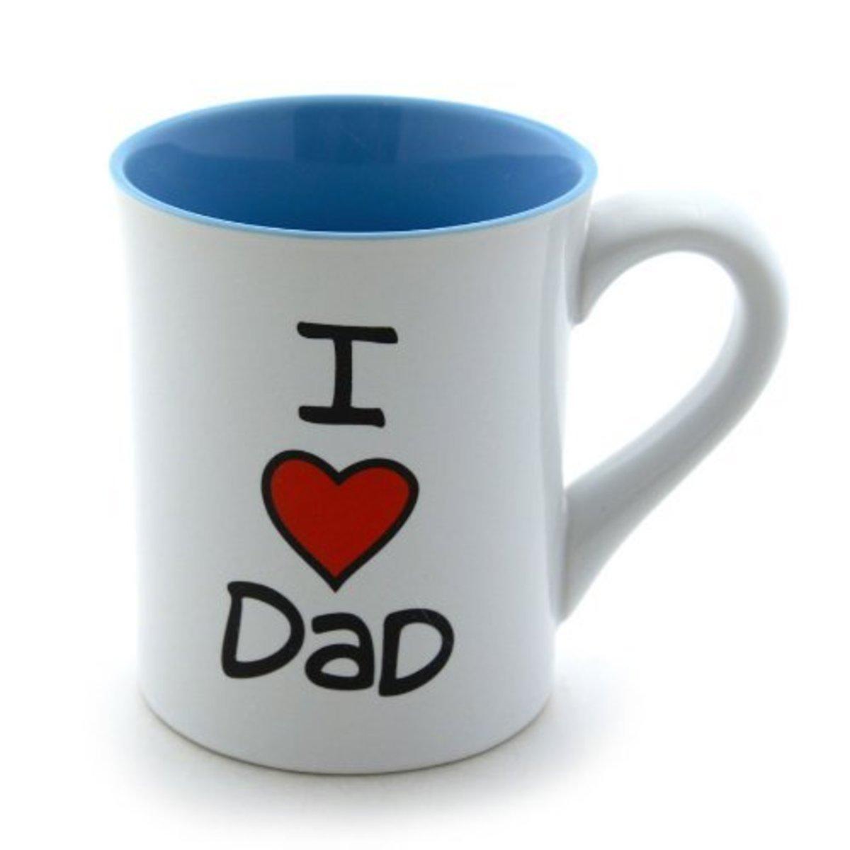 I Heart Dad Mug