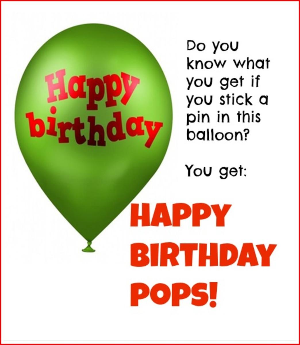 Happy Birthday Pops Ecard