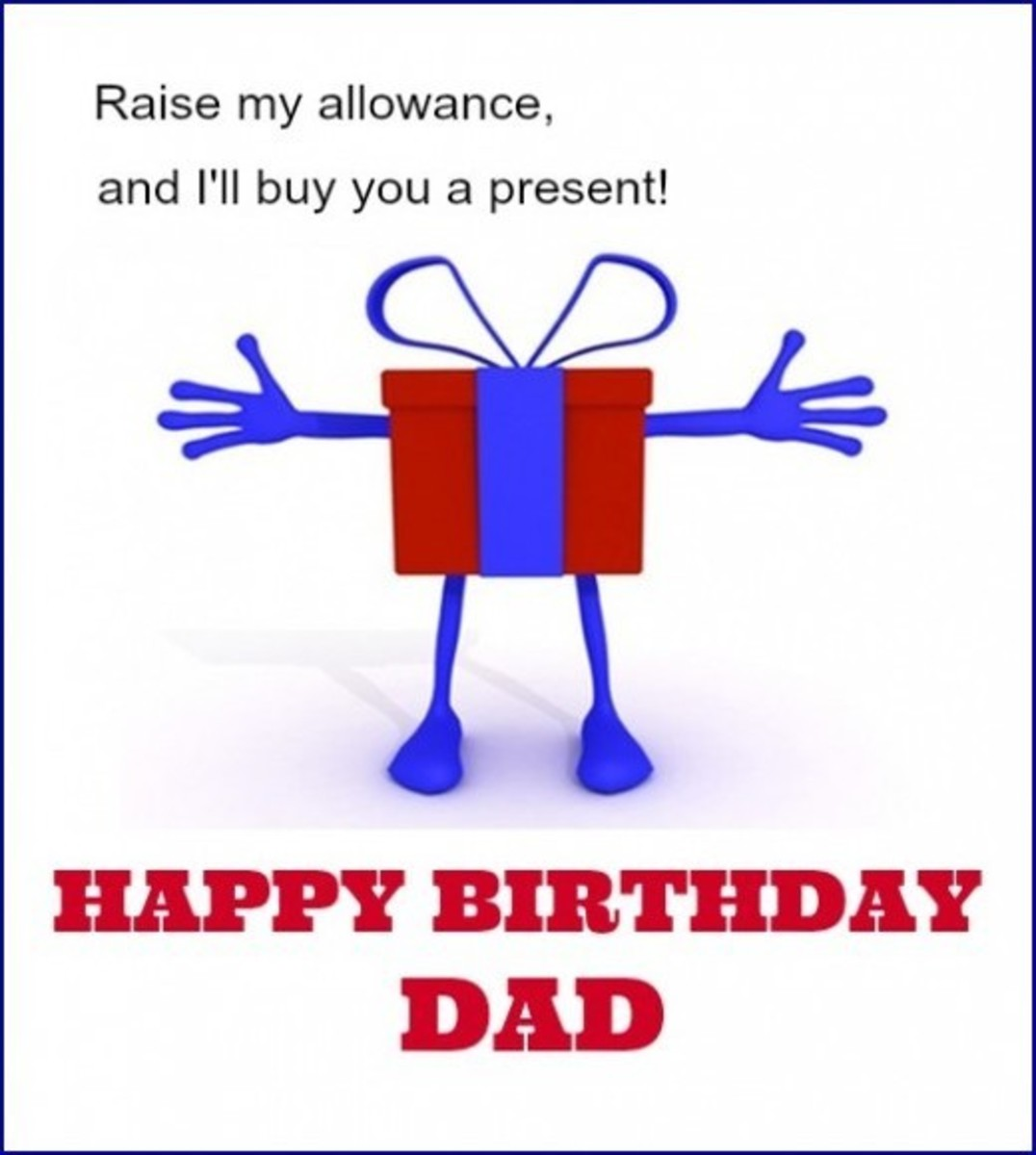 Inside Funny Dad Birthday Card from Kid